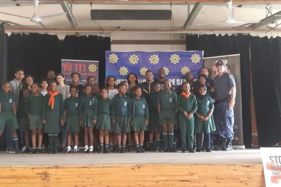 Stop Human Trafficking and Safety Talk: Addington Primary 2019